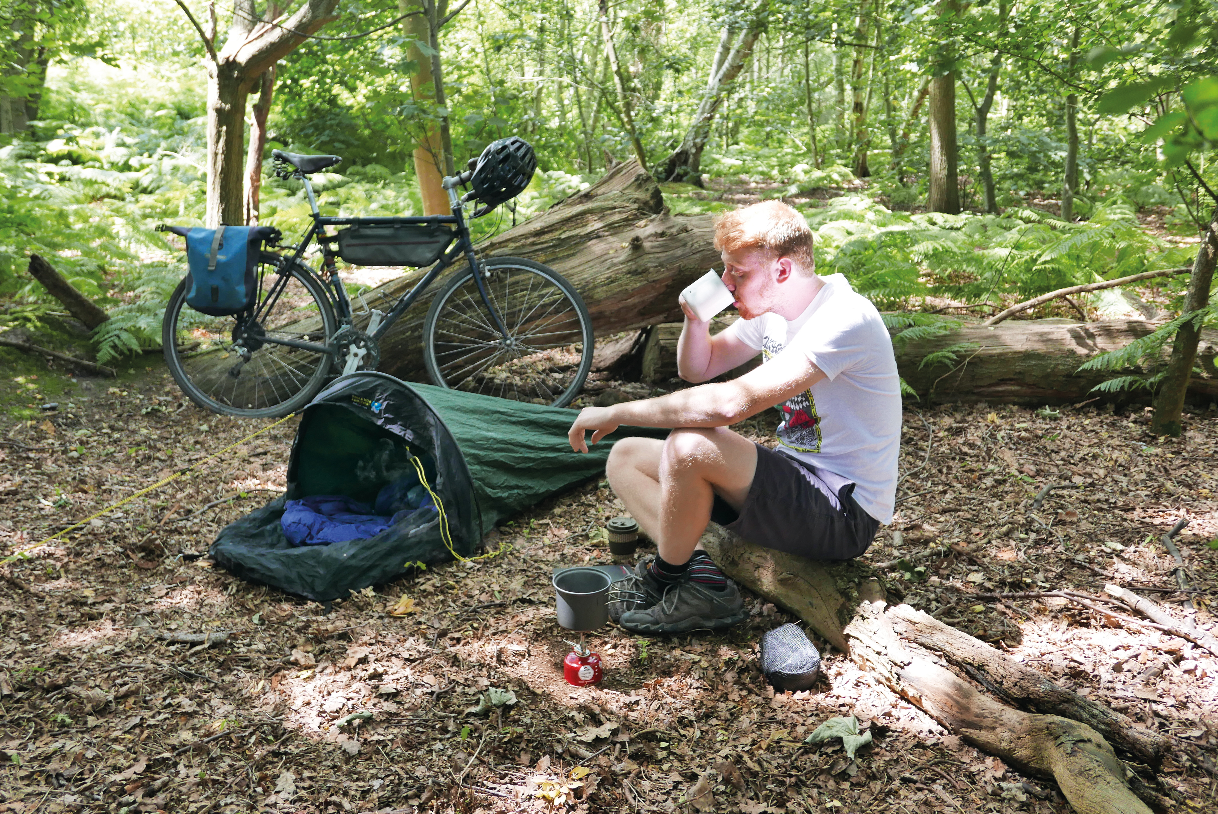 Bikepacking in Bike Week