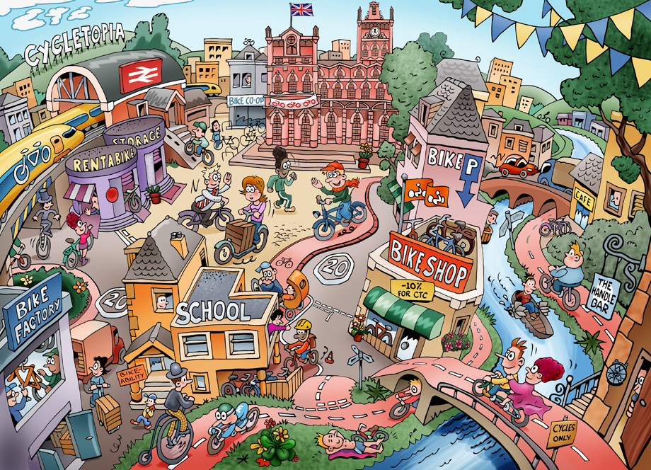 девушке описание города по картинке на английском сборник