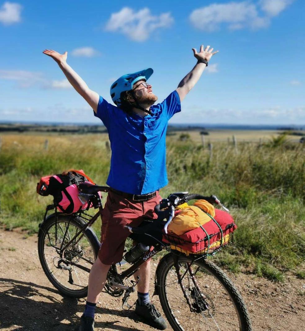 Bikepacking joy