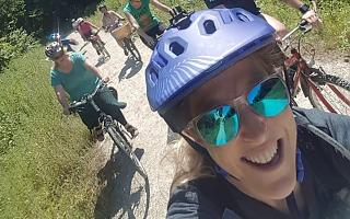 Vicky Balfour ran a Women's Festival ride in 2018