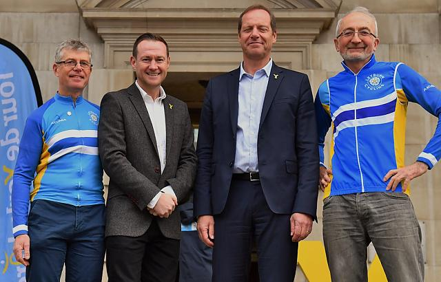 Leyburn Cycling at TdY launch