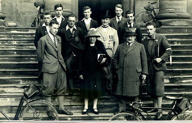 CTC Jubilee ride around Britain - Summer 1928