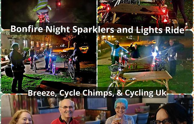 Bright lights & Sparklers ride