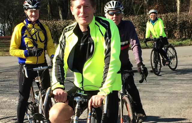 Bath Cyclists' Touring Club CTC) Ready for a Coffee