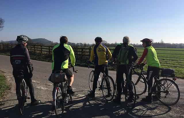 Bath Cyclists' Touring Club at a Junction