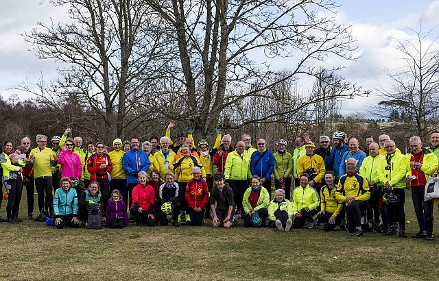 CTC Grampian 30th anniversary Big Ride
