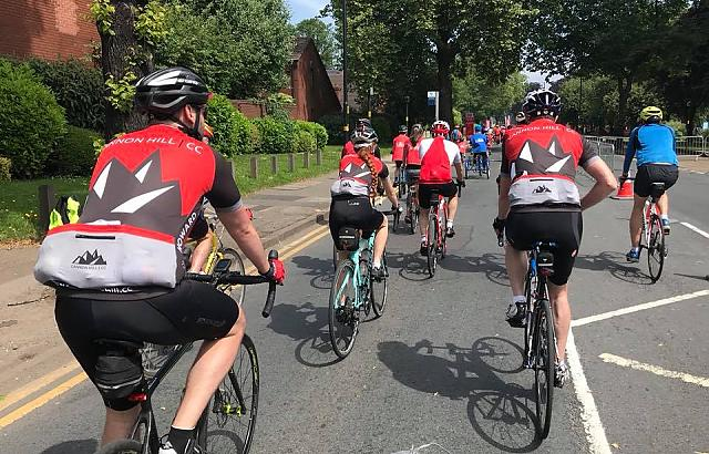We are an active community cycling club