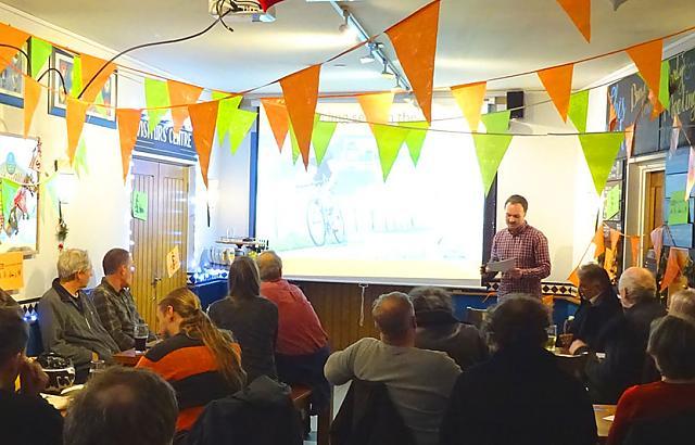 Photo of Pedals 'Go Dutch' film screening event