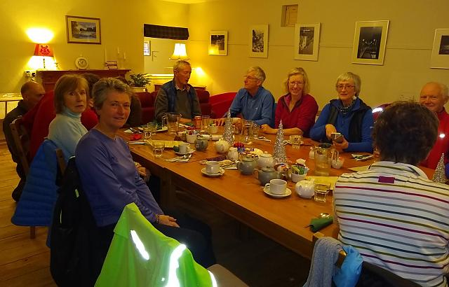 Borders Brake-away Christmas Lunch at Caberston Cafe in Walkerburn