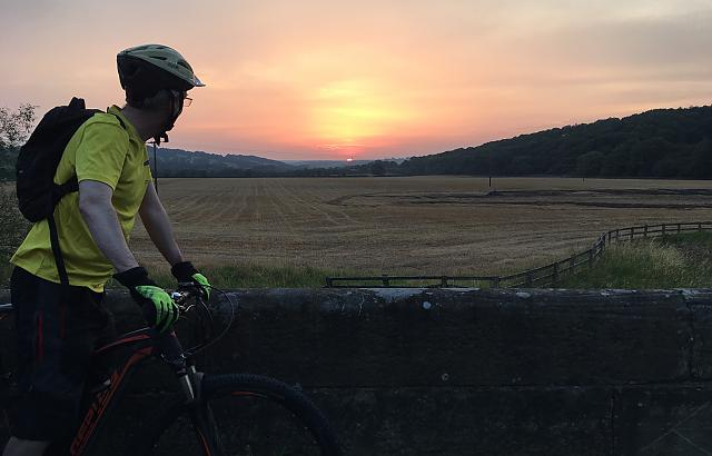 A Yorkshire Sunset - Liferiders-style