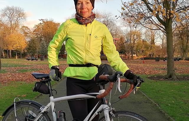 Bikeability instructor employed by Walsall Bike Project.