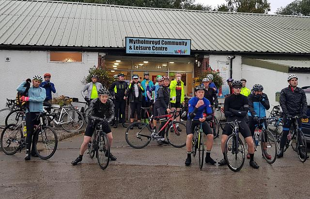 The start of our Autumn Audax ride - Season of Mists