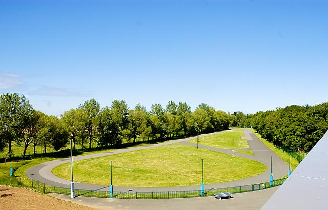 The cycle circuit at Middlesbrough Sports Viillage