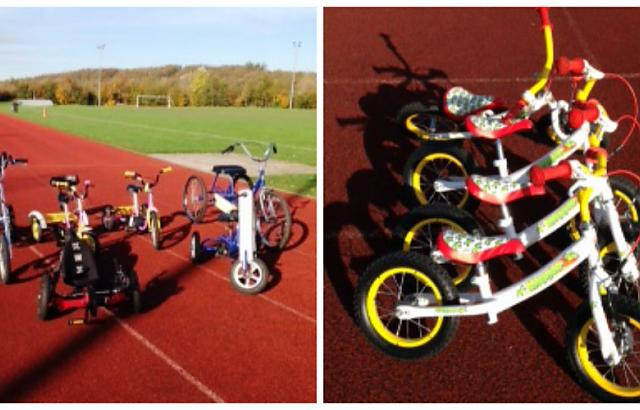 new children's bikes at the Arena