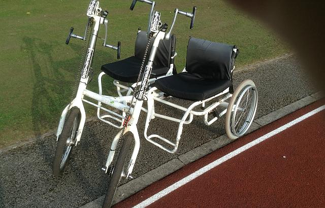 Double handcycle