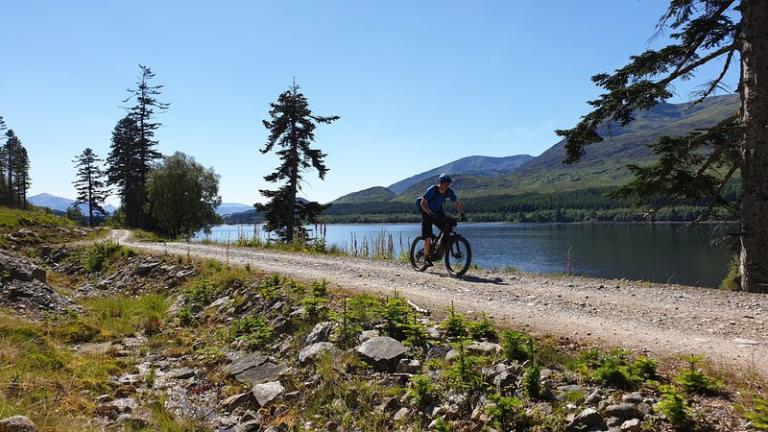 Cycle the great north trail in bike week