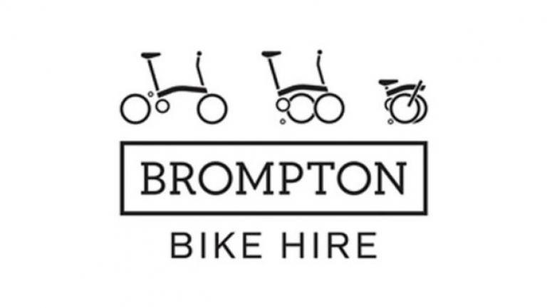 Brompton Bike Hire logo