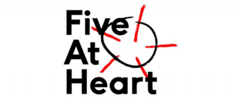Five at heart logo