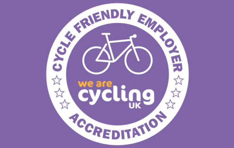Cycling UK accreditation logo