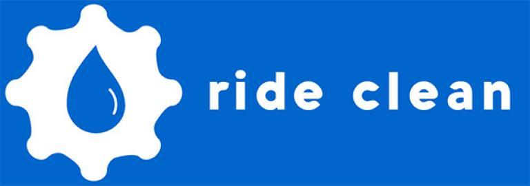 Ride clean logo