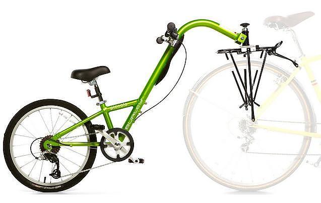 Hook up tandem bike