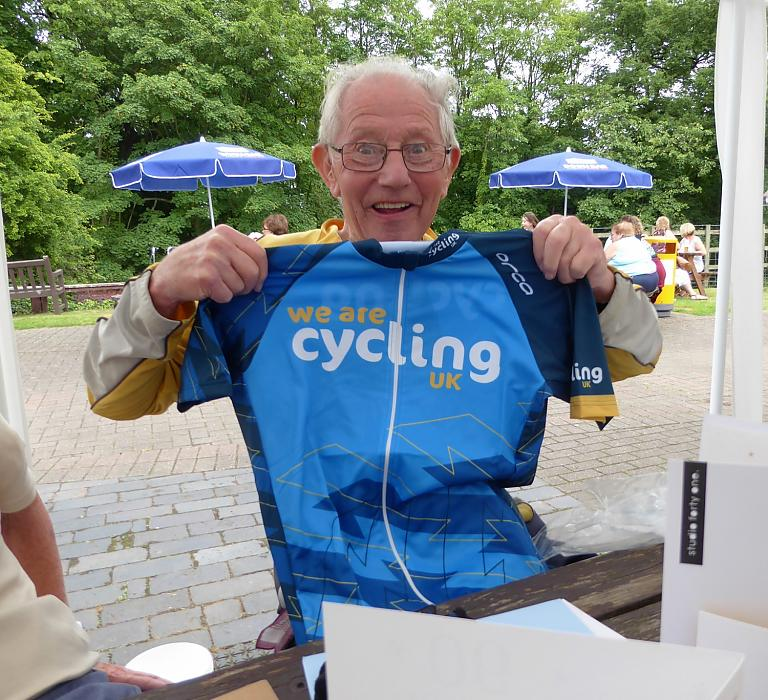 Hero Cyclist Ted Is A Real Inspiration To Us All Never Stop Cycling And We Wish Him Very Happy 90th Birthday