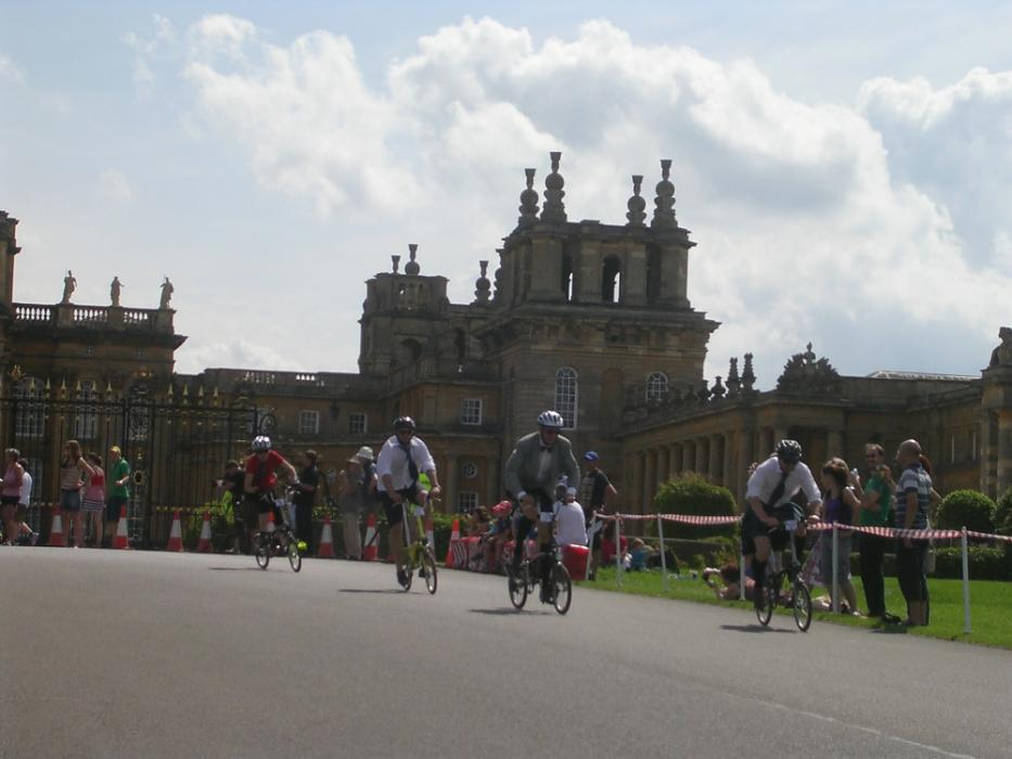 Blenheim palace a festival of cycling