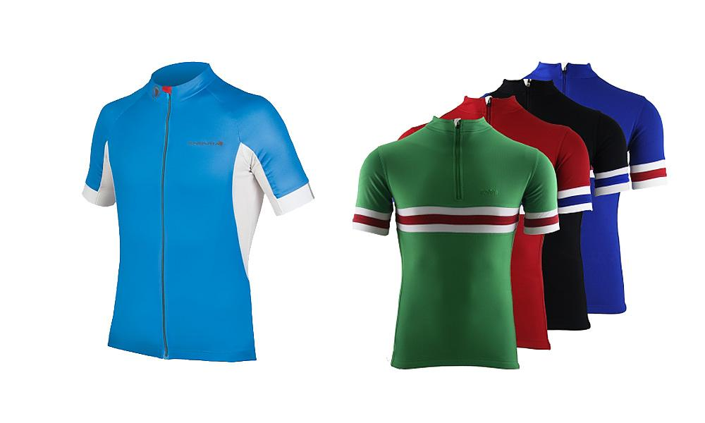 13f8965ce Short sleeve tops (L to R)  Endura and Torm