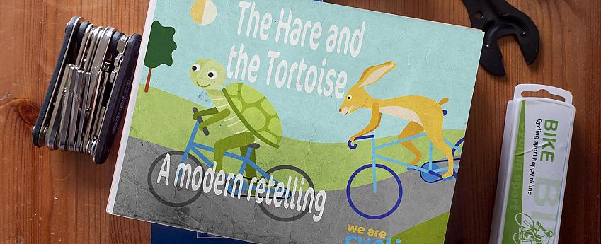 Book - the story of the hare and the tortoise