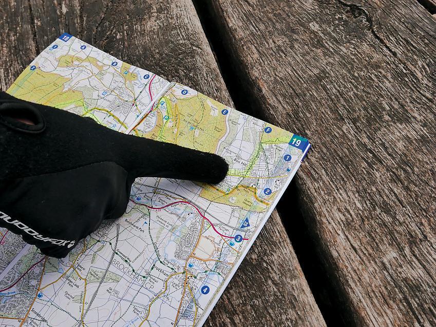 Finding the path. Photo Sam Jones