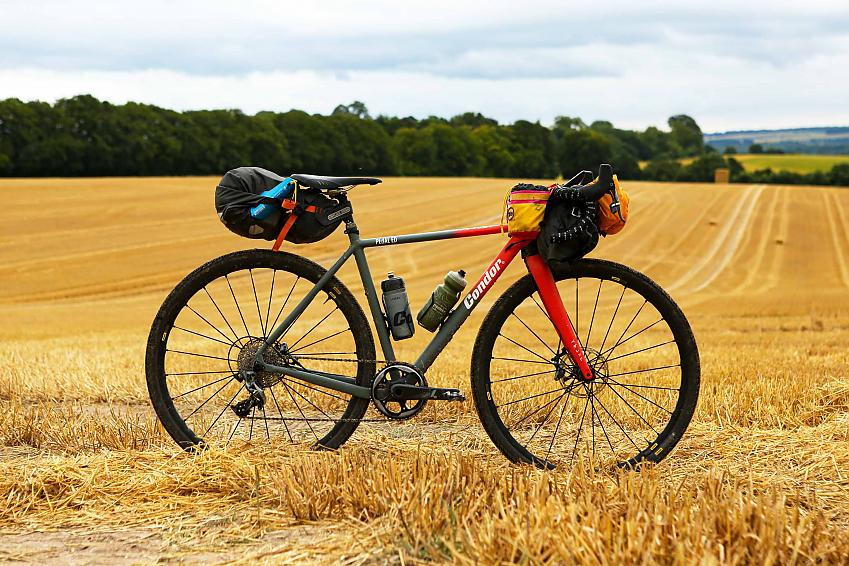 Condor x PEdAL ED Bivio-Odyssey as ridden by Unpaved Podcast's Katherine Moore on the inaugural ride of King Alfred's Way