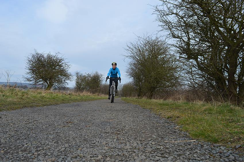 Good on gravel and other surfaces