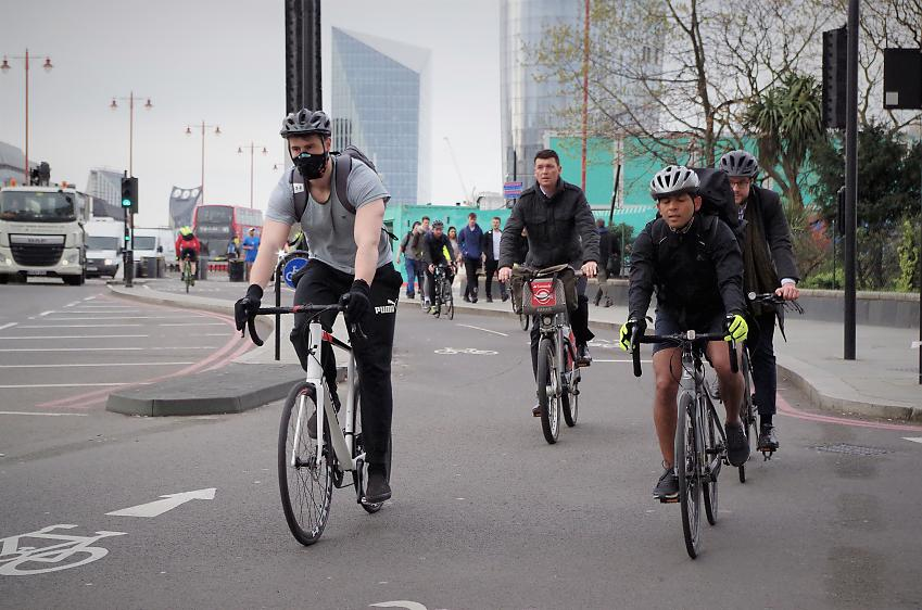 Cyclists were singled out for criticism in the Channel 5 programme