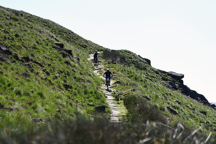 Many trails suitable for cycling aren't currently designated as bridleways