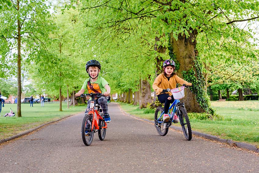 Cycling rates have shot up across the country