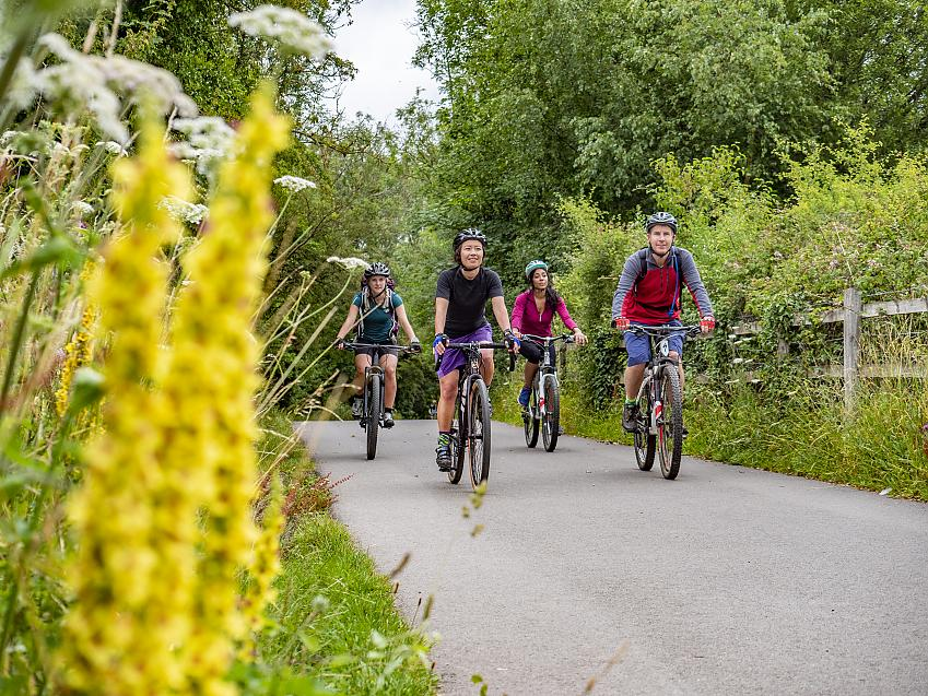 Northern Ireland's greenways provide a great way to get around away from traffic