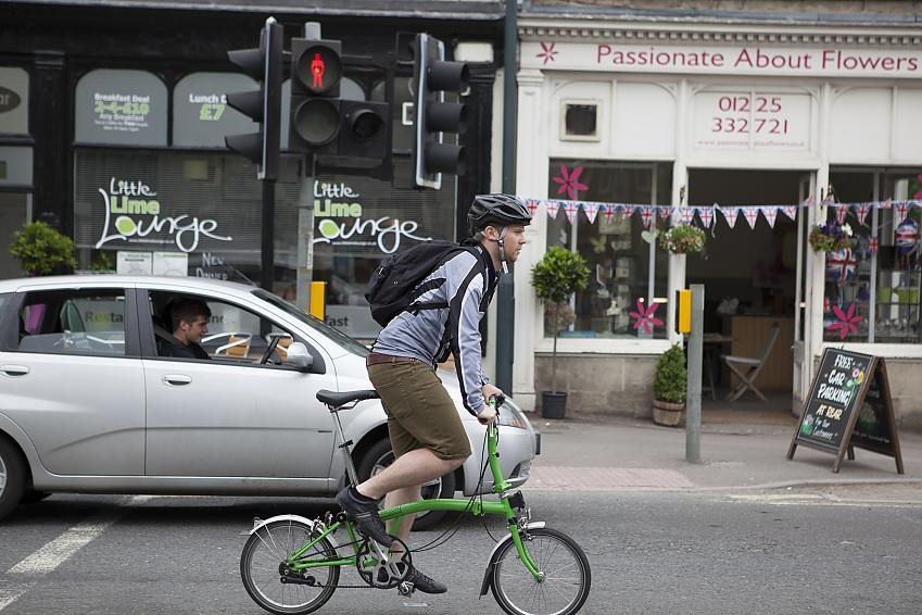 Most people who cycle also drive and walk to get around