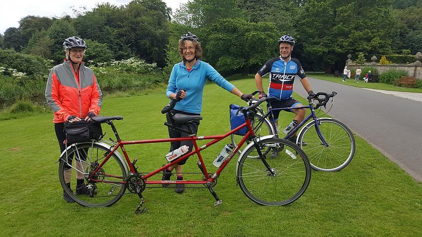 Anne Fraser, Diane Lusman and her partner Martin