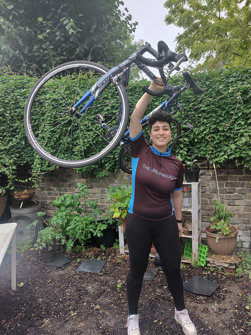 Nour Jarrouj 100 women in cycling, 2020