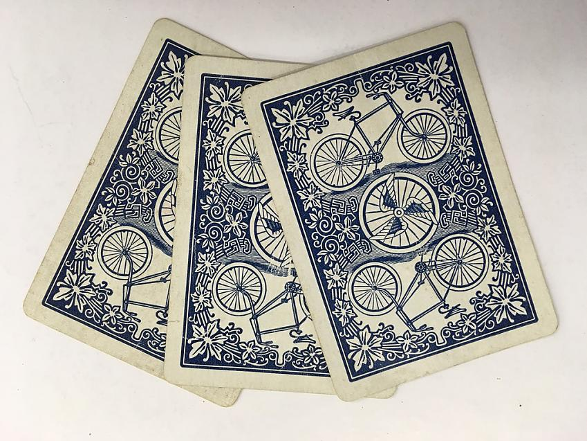CTC playing cards from circa 1960