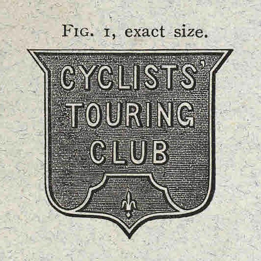 CTC Badge from 1884