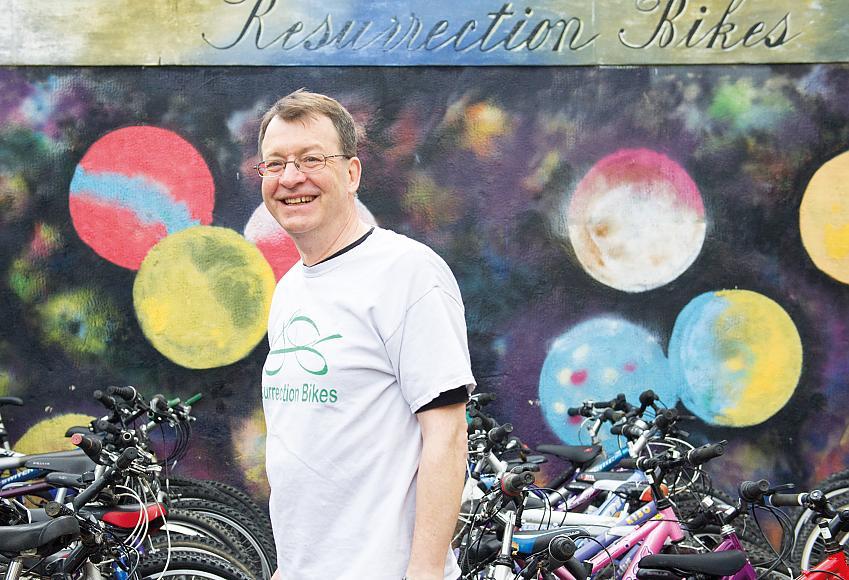John Rowe from Ressurection Bikes