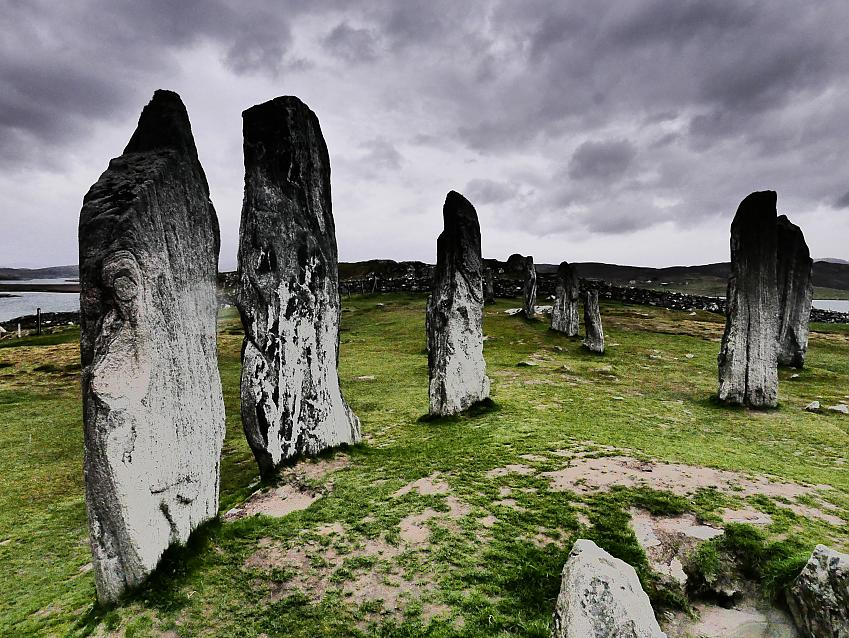 Older than Stonehenge - the standing stones at Callanish