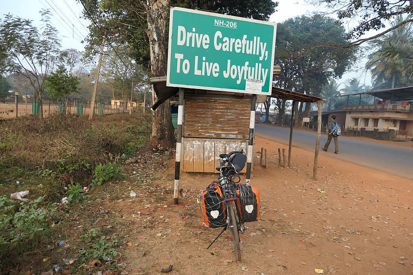 Drive carefully live joyfully