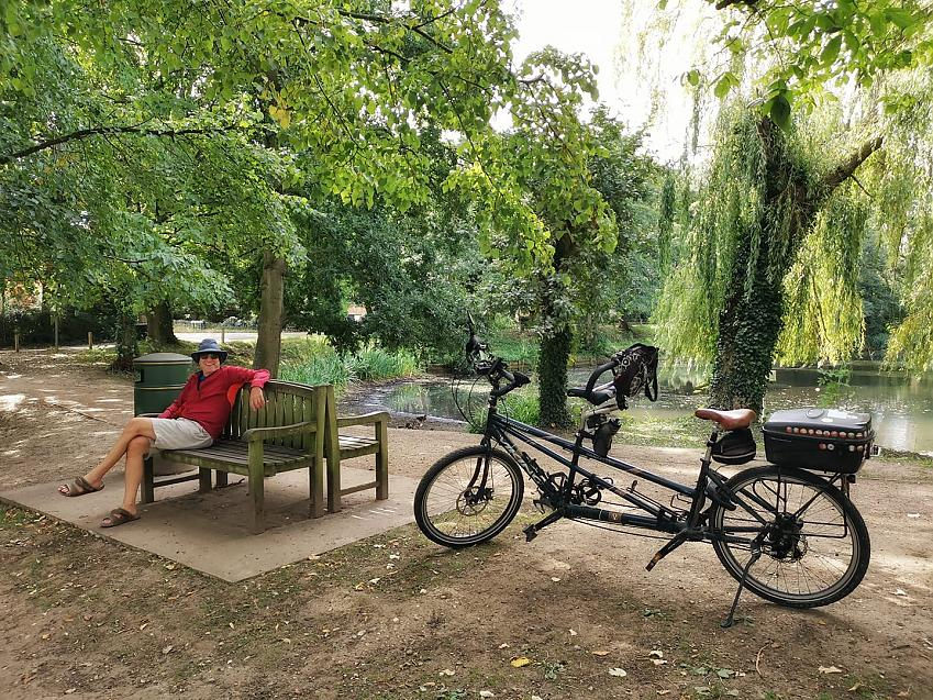 """""""Out and about around Norwich with Tilly the Tandem"""""""