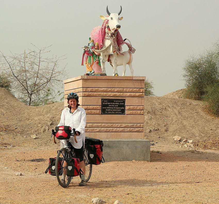 Laura Moss in Rajasthan