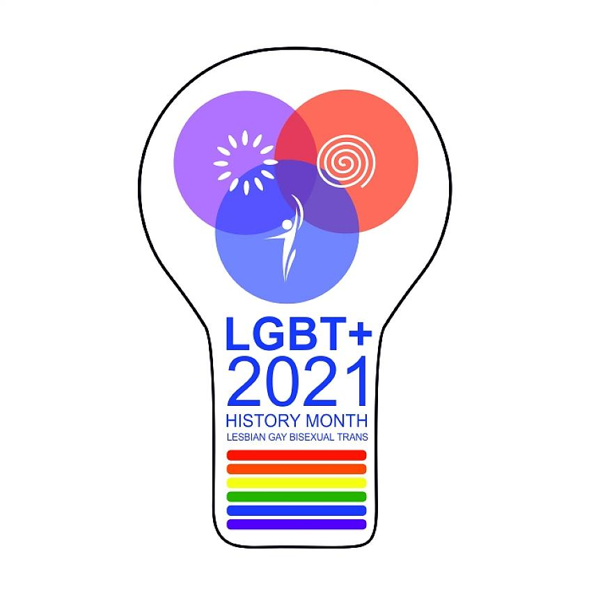 Logo courtesy of LGBT History Month