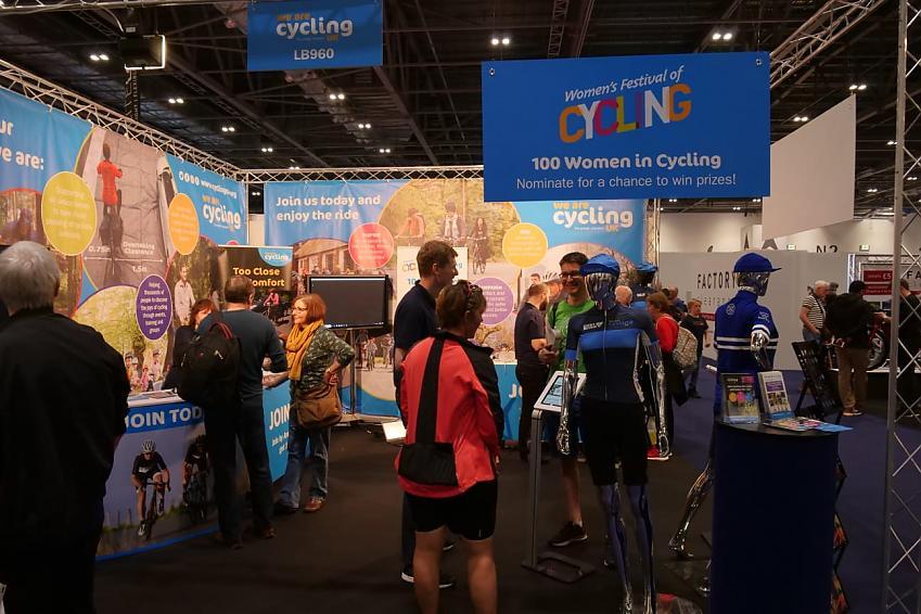 Cycling UK stand