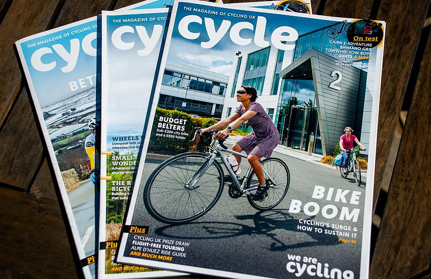 Cycle magazine is popular with members