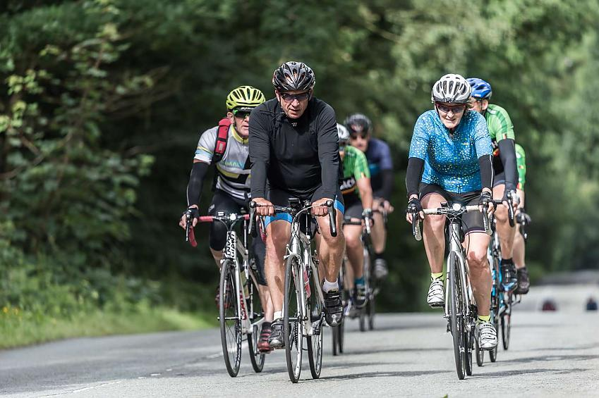 Cycling in North Wales in June at the Bob Clift Memorial Rides